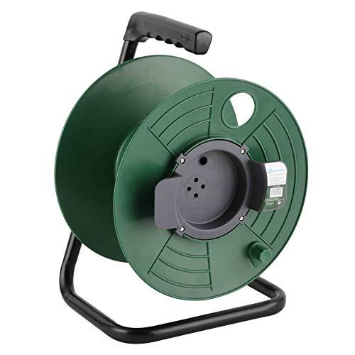 Electraline 94015 Enrollacable sin cable, adecuado para el hogar/oficina/jardín