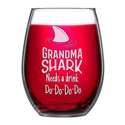 NeeNoNex Grandma Shark Needs a Drink PARENT