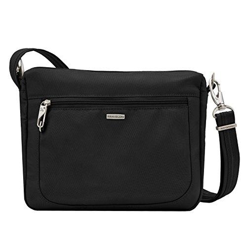 Travelon Anti-Theft Classic Small E/w Crossbody Bag, Black