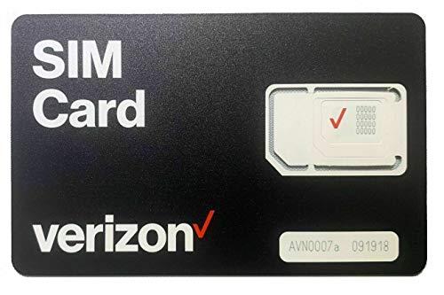 Verizon Wireless 4G LTE SIM Card - All 3 Sizes (3-in-1),...