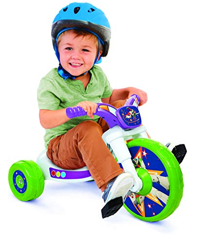 """Disney 94742 Toy Story 10"""" Fly Wheel Junior Cruiser Ride-on, Ages 2-4"""