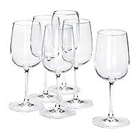 IKEA/イケア STORSINT:白ワイングラス20 cm 6個セット(703.963.14)