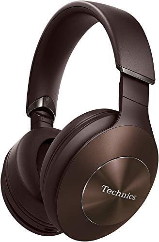 Technics EAH-F70N Cuffie a Padiglione Bluetooth Noise Cancelling Premium, Hi-Res Audio, Cancellazione del Rumore, Funzionamento Smart, Assistente Vocale, Pieghevoli, Bronzo