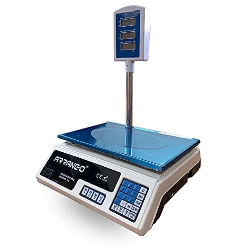 AOMEX BILANCIA ELETTRONICA DIGITALE PROFESSIONALE MAX 40 KG DIVISIONE 2 GR CON DISPLAY