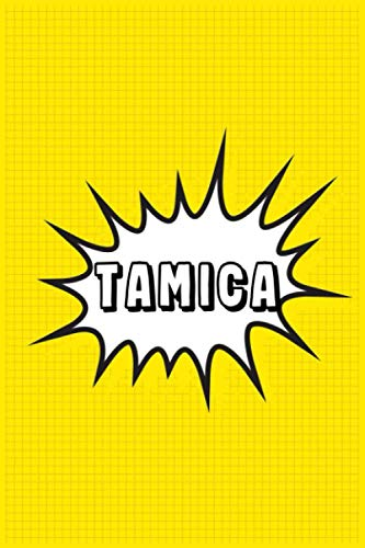 Tamica: Personalized Name Tamica Notebook, Gift for Tamica, Diary Gift Idea