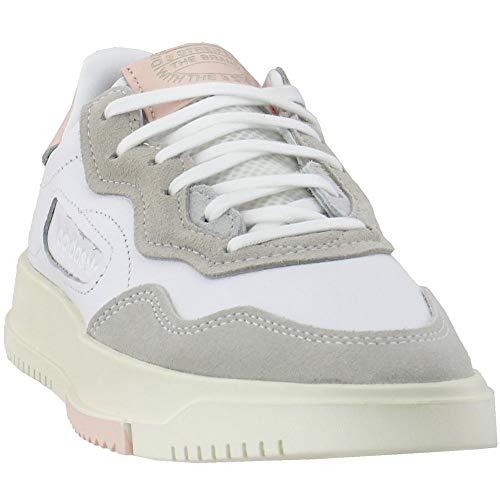 adidas SC Premiere Zapatillas bajas casuales para mujer, (Calzado Blanco/Calzado Blanco/Rosa Hielo F17), 38.5 EU