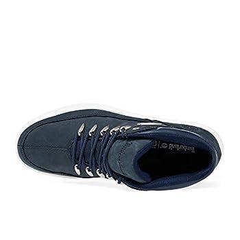 Timberland Davis Square Hiker, Chaussure de randonnée Mixte, Bleu (Navy Nubuck), 45 EU