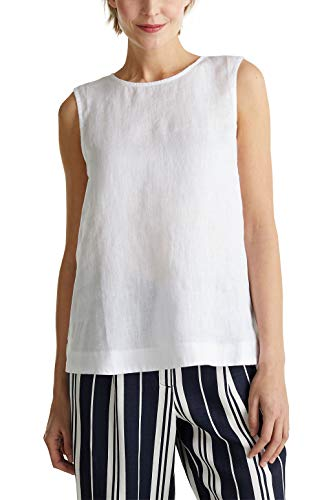 Esprit Collection - Camiseta de manga larga (lino)