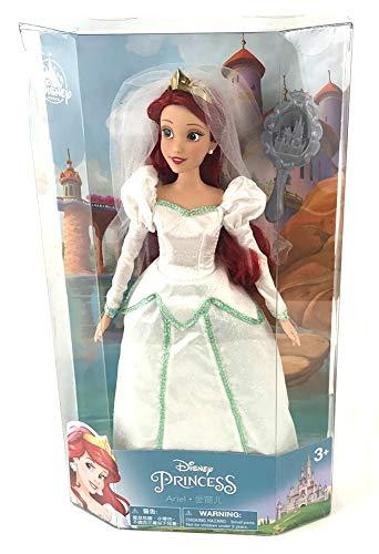 Disney Park Ariel Little Mermaid Wedding Bride 11.5 inch Doll NEW 2013 Release by Disney