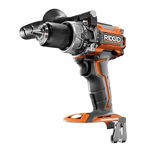 Ridgid R86116 18-Volt Lithium-Ion Cordless Brushless 1/2in Hammer Drill (Tool Only - Battery and Charger NOT Included) (Renewed)