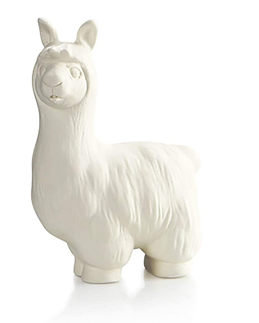 The Lovable Llama - Paint Your Own Adorable Ceramic Keepsake