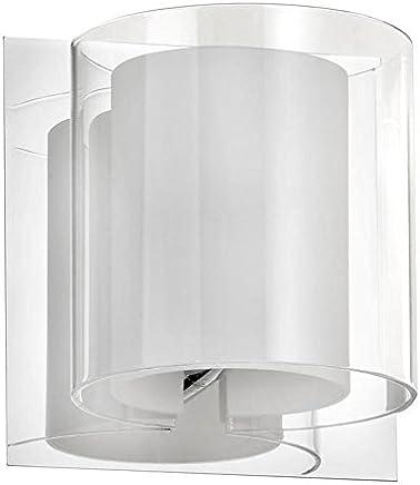 ポリッシュクローム1ライトバスルーム壁取り付け用燭台