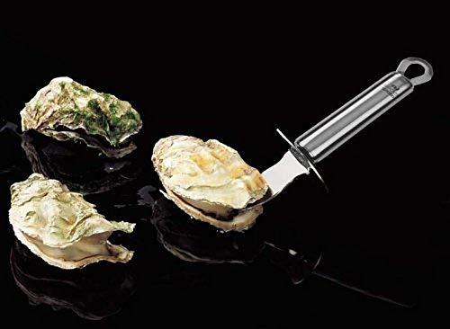 Fackelmann Coltellino per Ostriche con Paradito, Acciaio Inox, Argento