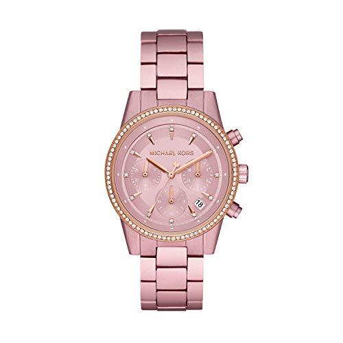 Michael Kors Reloj para Mujer de Cuarzo con Correa en Aluminio MK6753