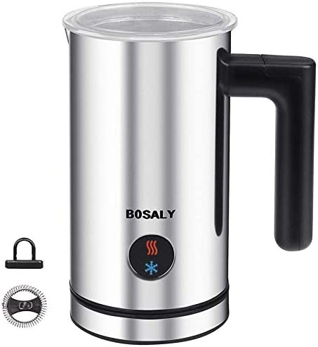BOSALY Milk frother Electric Milk Frother Automatic Milk Steamer Milk Foamer Frother Milk Steamer product image