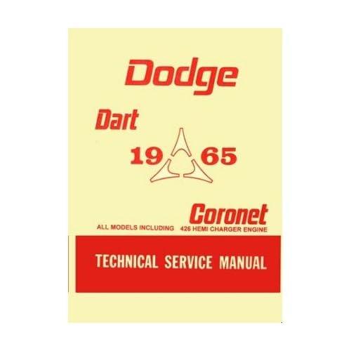 1965 Dodge Coronet 500 Refrigerator Magnet