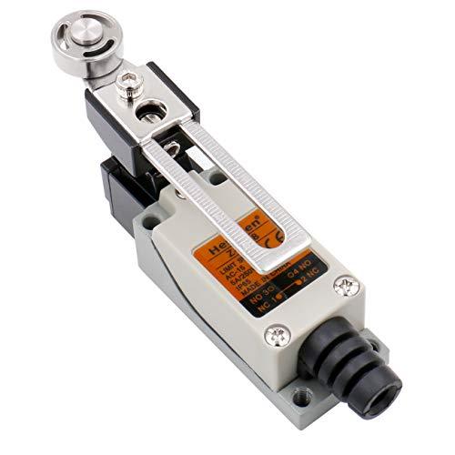 Heschen - Endschalter, Z-8/108 Verstellbarer Rollenhebel, 5A, 250V Wechselstrom, SPDT Momentary, CE gelistet, IP 65, für CNC Fräse, Plasma