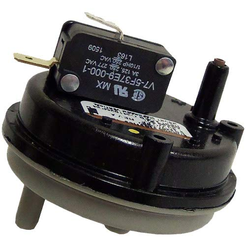 """Tridelta Furnace Vent Air Pressure Switch Replacement for Part # FS6002A-2103 0.98"""" WC"""