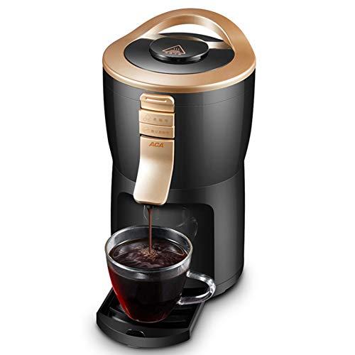 ZHAN Kaffeemaschine, 600W Kaffeevollautomat-Maschine Grinder Haushalt Bewegliche Kleine Schleifen Kaffee, Bohnenpulver, Tee