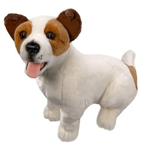 Carl Dick Peluche - Perro Jack Russell Terrier (Felpa, 40cm
