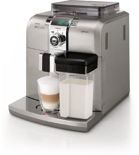 Philips Saeco HD8838/01 - Cafetera automática, 1400 W, color plata