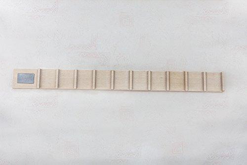 Spicebar Design Gewürzregal, passend für 10 Gewürzdosen, die magnetisch gehalten Werden (Esche)