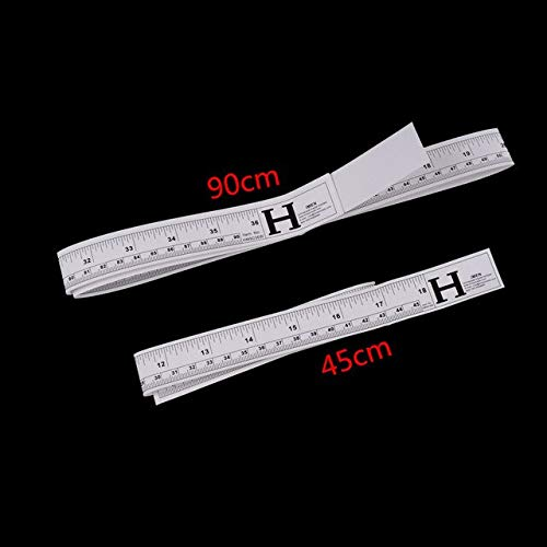 Purchase BoMiVa - 45cm 90cm Vinyl Self Adhesive Rulers Metric Measure Tape Sewing Machine Sticker To...