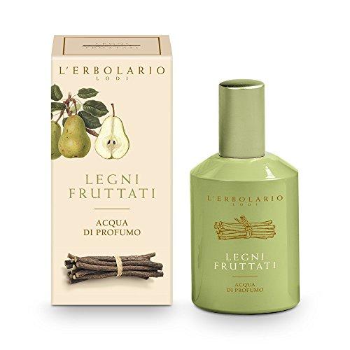 L'Erbolario Legni Fruttati Eau de Parfum, 1er Pack (1 x 50 ml)