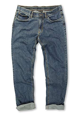 JP 1880 Herren große Größen bis 66, Jeans, Denim-Hose im 5-Pocket-Style, Stretch-Komfort, elastischer Bund & Regular Fit Blue Stone 64 708067 91-64