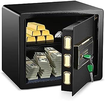 ADIMO 1.23 Cubic Feet Safe Cabinet w/2 Master Key
