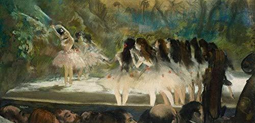 YYTTLL Puzzles De Madera para Adultos - Danza En La ópera De París por Edgar Degas Puzzles 1000 Piezas