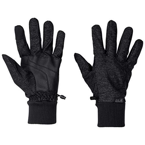 Jack Wolfskin Herren WINTER TRAVEL GLOVE MEN touchscreenfreundliche Handschuhe, black, M