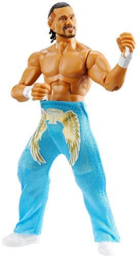 WWE Élite Figura Angel Garza, muñeco articulado de juguete con accesorios (Mattel GVB57)
