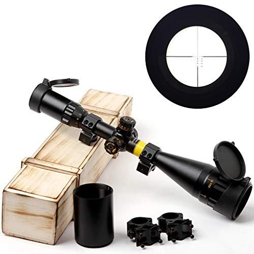 Einzylinder-Teleskop 4-16 × 50 High-Power-High-Performance-High-Definition-erdbebenresistente Teleskop Ranging optischen Anblick Scharfschützenspiegel 98k (Farbe : 4-16×50, größe : 11-20MM-E)