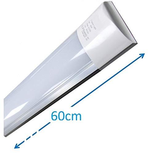 Luminaria LED de Superficie 60 cm, 20w, Color Blanco Frío (6500K). Directa y sin parpadeos. 18w. (60cm)