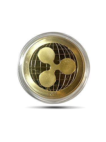 24K Ripple Gold Coin Novelty Coin - Collector