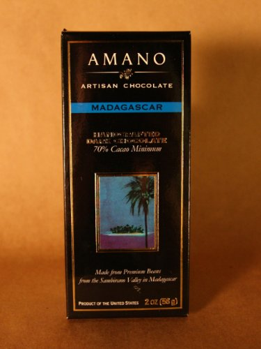 image of Amano 70% Cacao Madagascar Artisan Chocolate