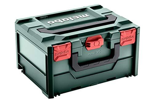 Metabo Werkzeugkoffer leer Metabox 215 (Koffer aus ABS, ohne Werkzeug, stapelbar, robust und bruchsicher, 396x296x215 mm, Volumen 18.3 l) 626887000
