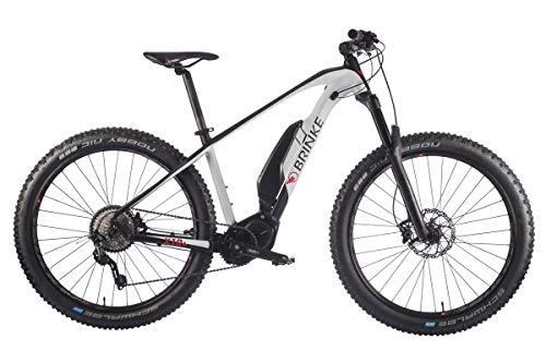 Brinke Bicicletta Elettrica X1R (Bianco, S)