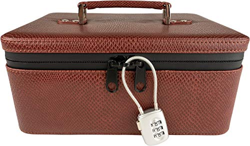 Swag Gear Smell Proof Case with Lock - Smell Proof Bag with Combination Lock - Locking Travel Case Stash Boxes