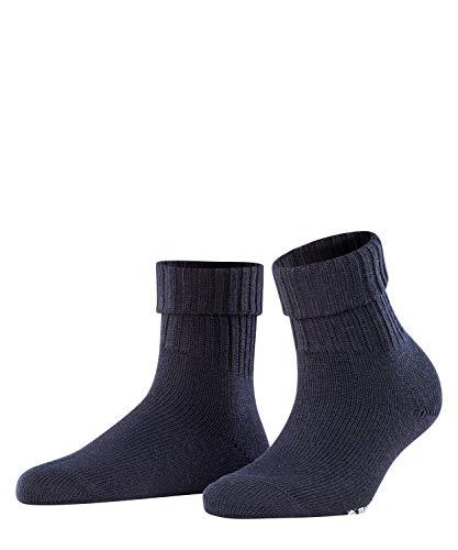 BURLINGTON Damen Socken Plymouth, 91% Schurwolle, 1 Paar, Blau (Dark Navy 6375), Größe: 36-41