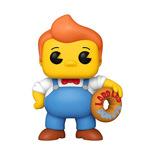 Funko POP Animation: The Simpsons-6' Lard Lad Giocatollo, Multicolore, 52963