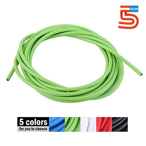Cable de Cambio de Bicicleta de Acero para Bicicleta de Montaña 5 Colores (Color : Verde)