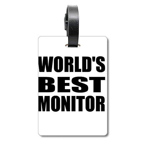 World's Best Monitor Graduation Season Cruise Koffer Bag Tag Tourister Identifikationsetikett
