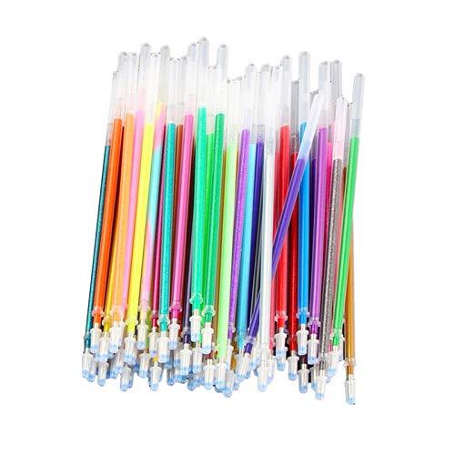#N/a 36/60 / 100x Fluorescencia Brillo Dibujo Pluma de Gel Pinturas DIY Gel Tinta Pluma Recambio - 60Color