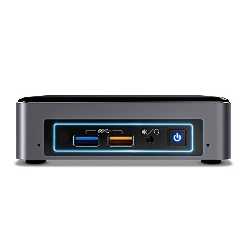 Intel NUC BOXNUC7I3BNK - Ordenador Mini PC (Intel Core i3-7100U, espacio para 32 GB DDR4 RAM,espacio de 2.5