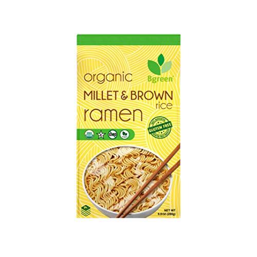 Big Green Organic Food- Organic Millet & Brown Rice Ramen, Gluten-Free, Non-GMO, Vegan, Kosher (1)