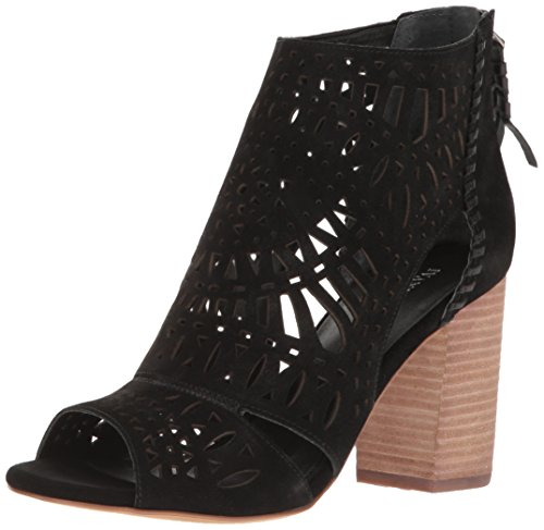 Ivanka Trump Women's Rachae Heeled Sandal, Black, 8.5 M US