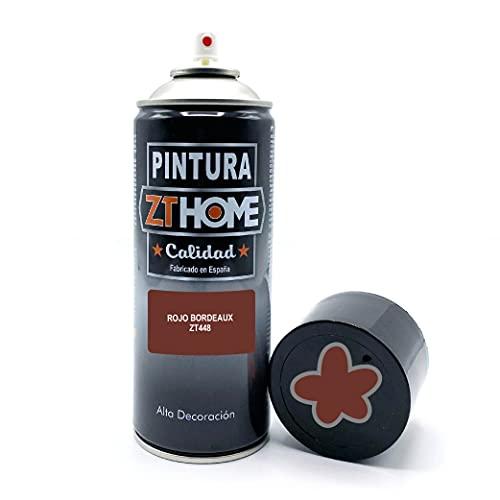 Vernice spray   Vernice Spray Rosso Bordeaux   400 ml   Bomboletta Spray per legno, alluminio, ferro, ceramica, plastica, antiruggine. Vernice bomboletta spray per bici, cerchi   RAL 3009  