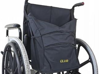 Ability Superstore - Bolsa para silla de ruedas (41 x 35,5 x 18 cm), color negro